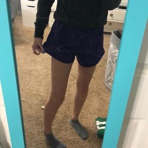Purple Nike Running Shorts